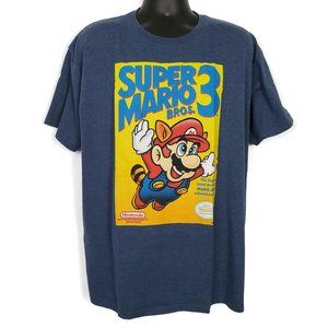 Super Mario Bros 3 Men's Short Sleeve Shirt 2XL